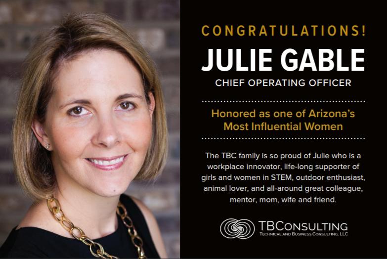 julie gable congrats
